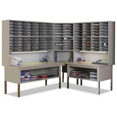 Safco® Mayline® Mailflow-To-Go™ Mailroom System Tables Thumbnail