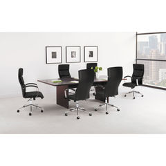HON® BL Laminate Series Rectangle Conference Table with Slab Base Thumbnail