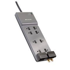 Belkin® Eight-Outlet Home/Office Surge Protector Thumbnail