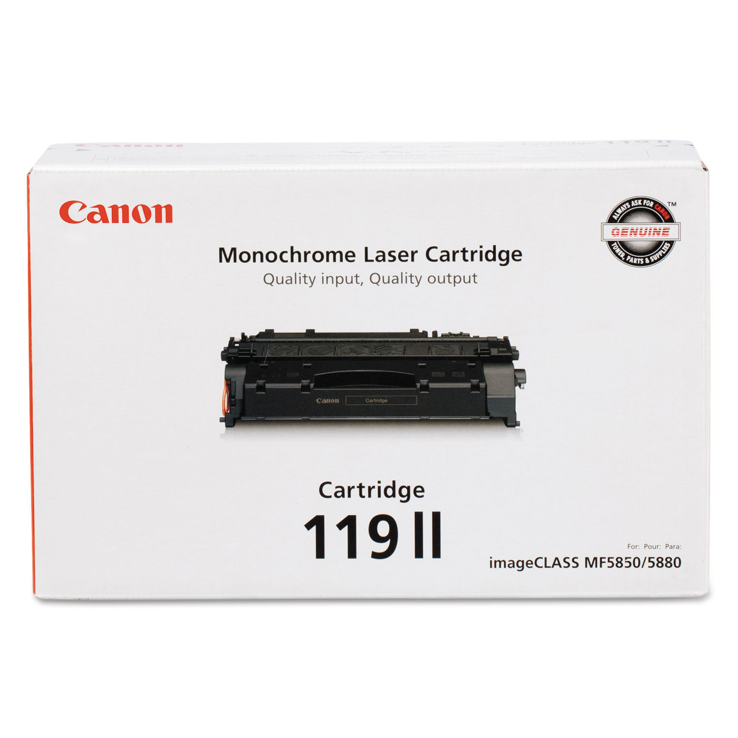 8PK CRG119 Toner Cartridge Compatible For Canon ImageClass MF5960dn MF6160dw