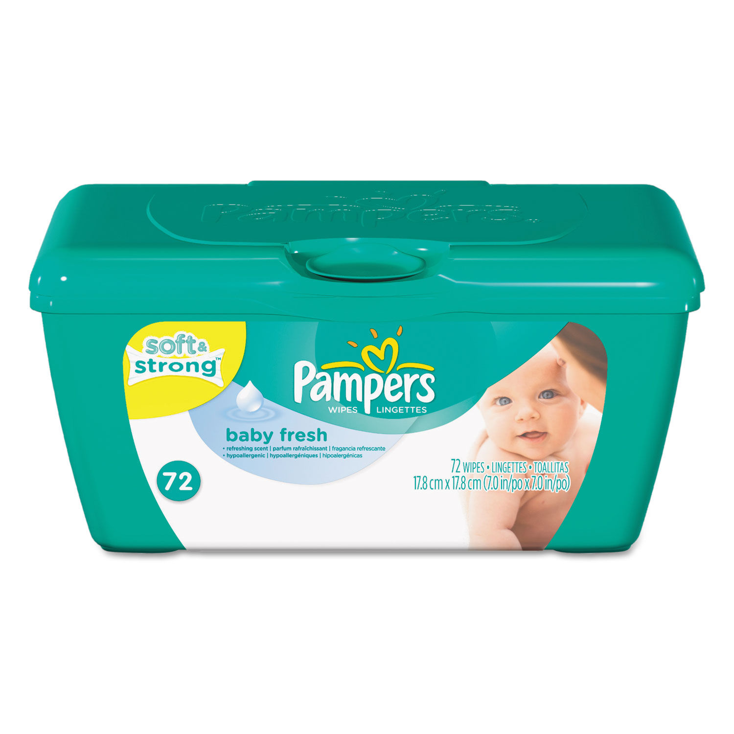 Baby Fresh Wipes By Pampers 174 Pgc28248ea Ontimesupplies Com