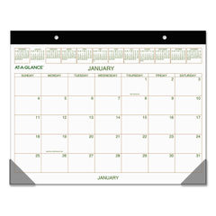 AT-A-GLANCE® Two-Color Desk Pad Thumbnail