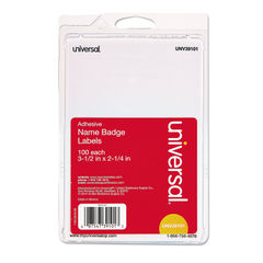 Universal® Self-Adhesive Name Badges Thumbnail
