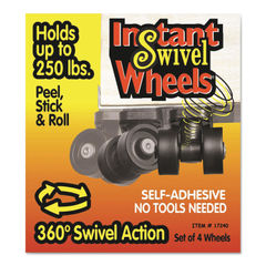 Master Caster® Roll-Arounds® Instant Swivel Wheels Thumbnail