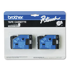 Brother P-Touch® TC Series Standard Adhesive Laminated Labeling Tape Thumbnail