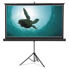 Quartet® Wide Format Tripod Base Projection Screen Thumbnail