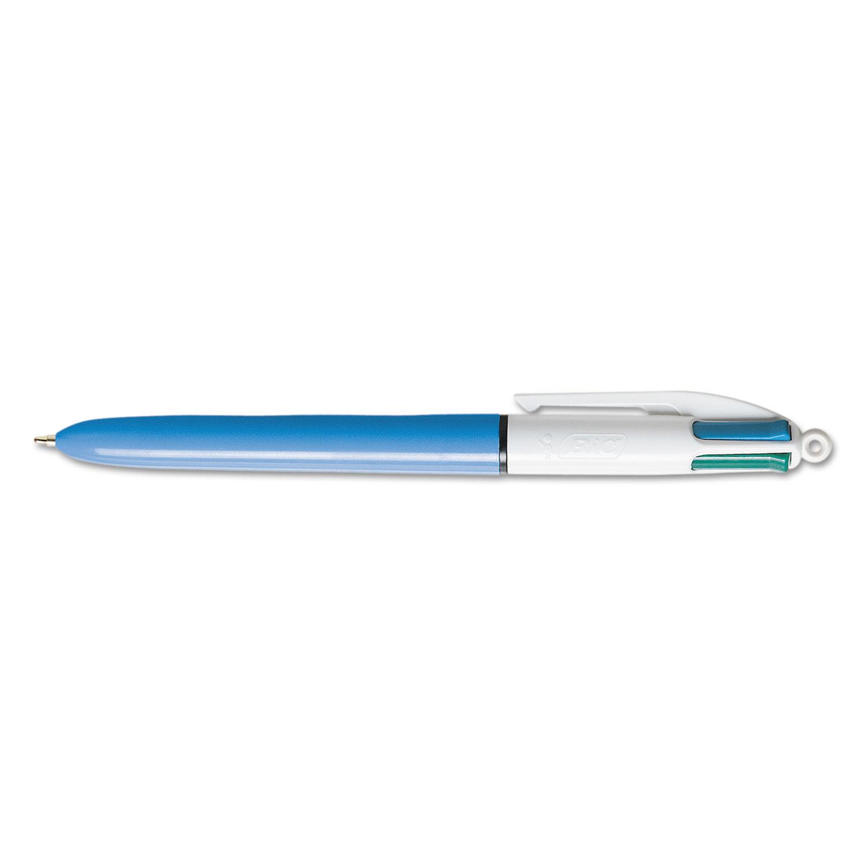 NEW 4 in 1 Multi Colour All In 1 Retractable Pen Blue Red Black Green Colour