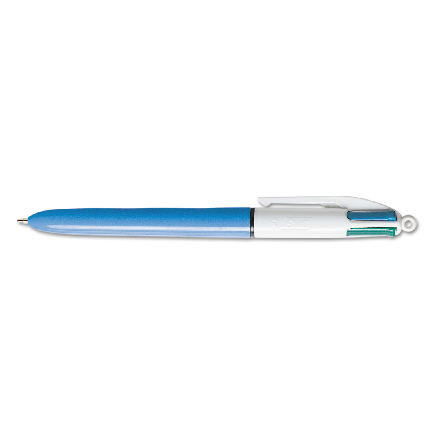 Black 4 in 1 Colour Retractable Ballpoint Pen Red /& Green Ink -HNKO Blue