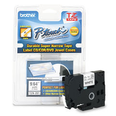 Brother P-Touch® TZ Series Super-Narrow Non-Laminated Labeling Tape Thumbnail