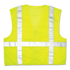MCR™ Safety Garments® Luminator Safety Vest Thumbnail