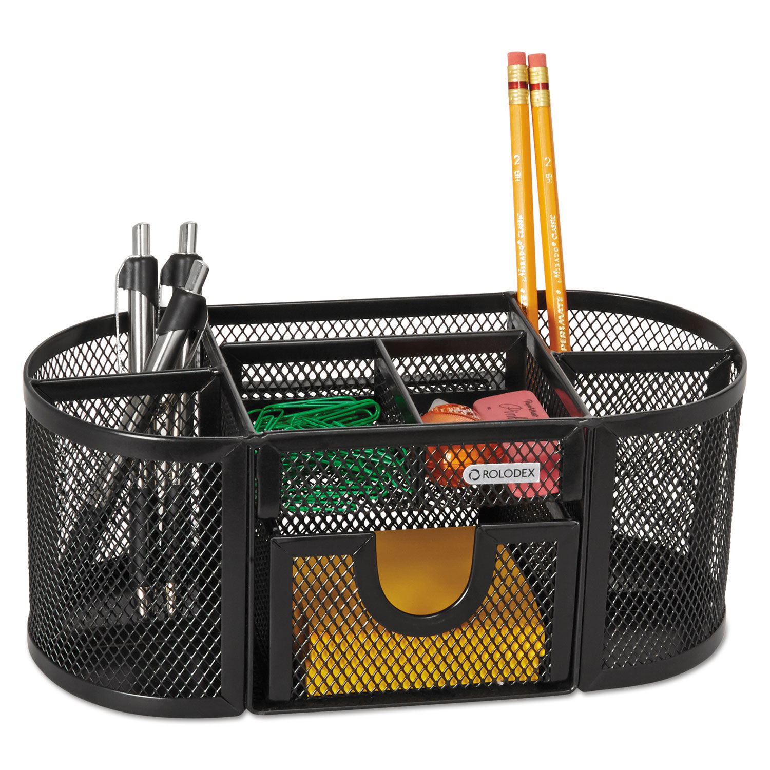 Mesh Pencil Cup Organizer By Rolodex Rol1746466 Ontimesupplies Com