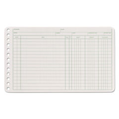 Adams® Six-Ring Ledger Binder Refill Sheets Thumbnail