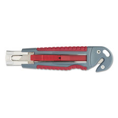 Clauss® Titanium Auto-Retract Utility Knife with Carton Slicer Thumbnail