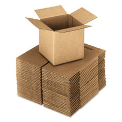United Facility Supply Brown Corrugated - Cubed Fixed-Depth Shipping Boxes Thumbnail