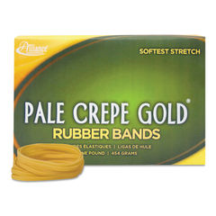Alliance® Pale Crepe Gold® Rubber Bands Thumbnail
