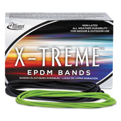 "ALL02005 - X-Treme Rubber Bands, Size 117B, 0.08"" Gauge, Lime Green, 1 lb Box, 200/Box"