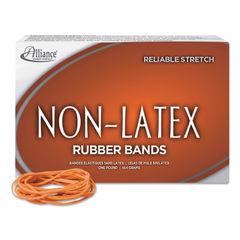 """ALL37196 - Non-Latex Rubber Bands, Size 19, 0.04"""" Gauge, Orange, 1 lb Box, 1,440/Box"""