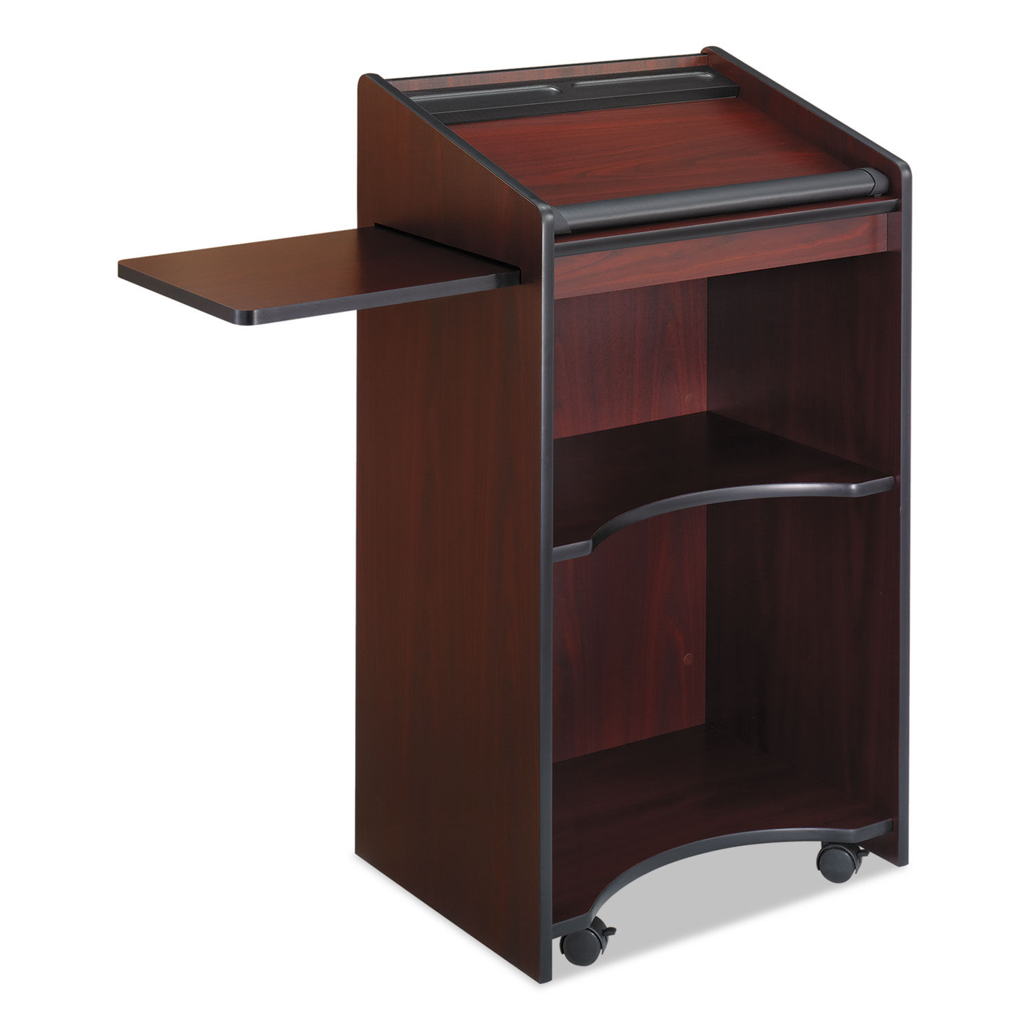 Safco Stand-Up Lectern with Paper Stop and Pen Tray