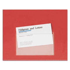 Cardinal® HOLD IT® Poly Business Card Pocket Thumbnail