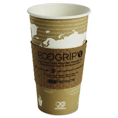 Eco-Products® EcoGrip® Recycled Content Hot Cup Sleeve Thumbnail