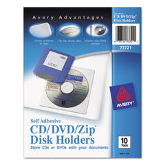 Avery® Self-Adhesive Media Pockets Thumbnail