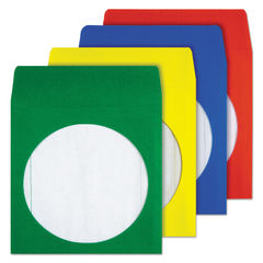 Quality Park™ Colored CD/DVD Paper Sleeves Thumbnail