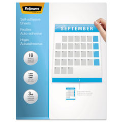 Fellowes® Self-Adhesive Laminating Sheets Thumbnail