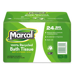 Marcal® 100% Recycled Bundle Two-Ply Bath Tissue Thumbnail