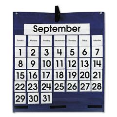 Carson-Dellosa Publishing Monthly Calendar Pocket Chart Thumbnail