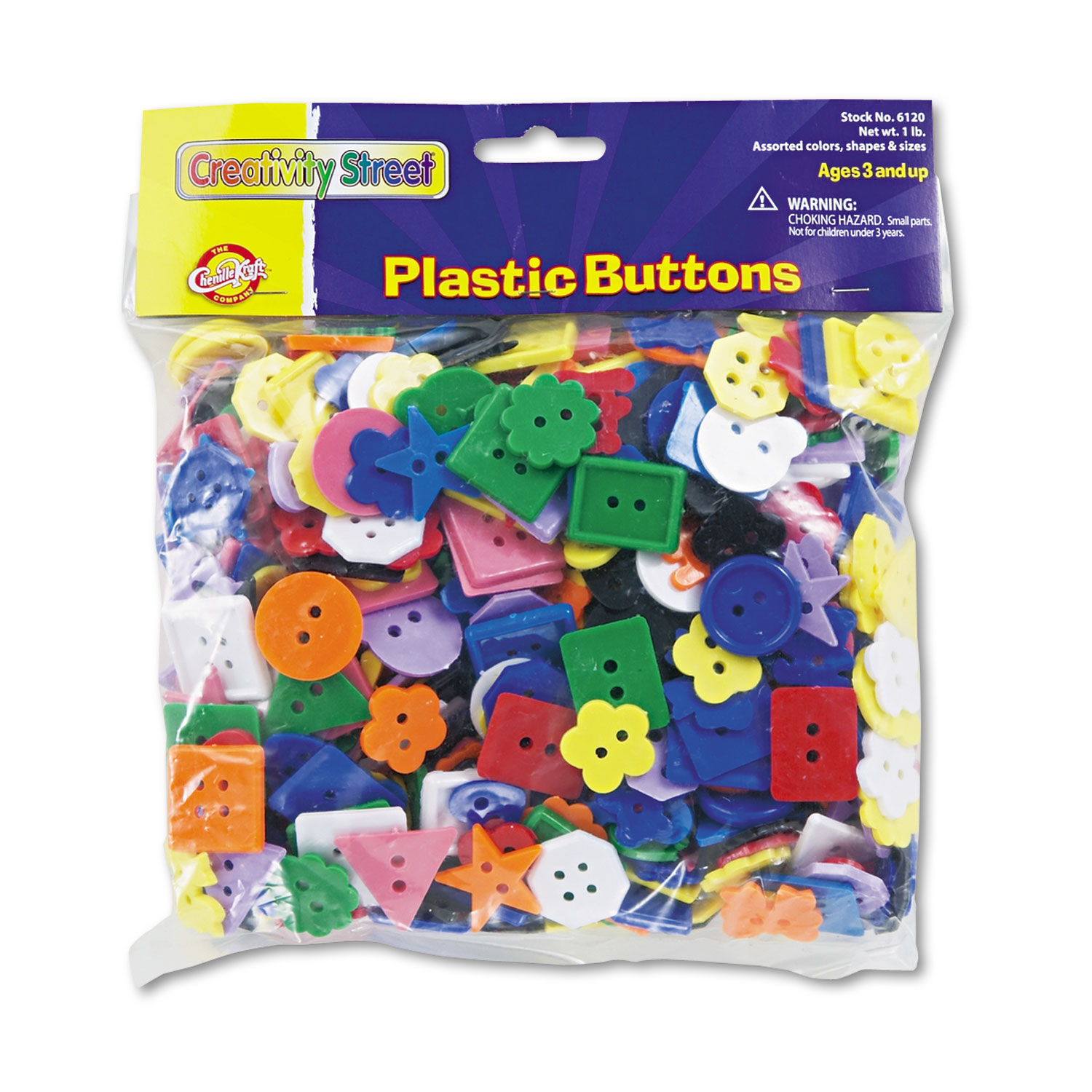 Assorted Buttons all colors and sizes