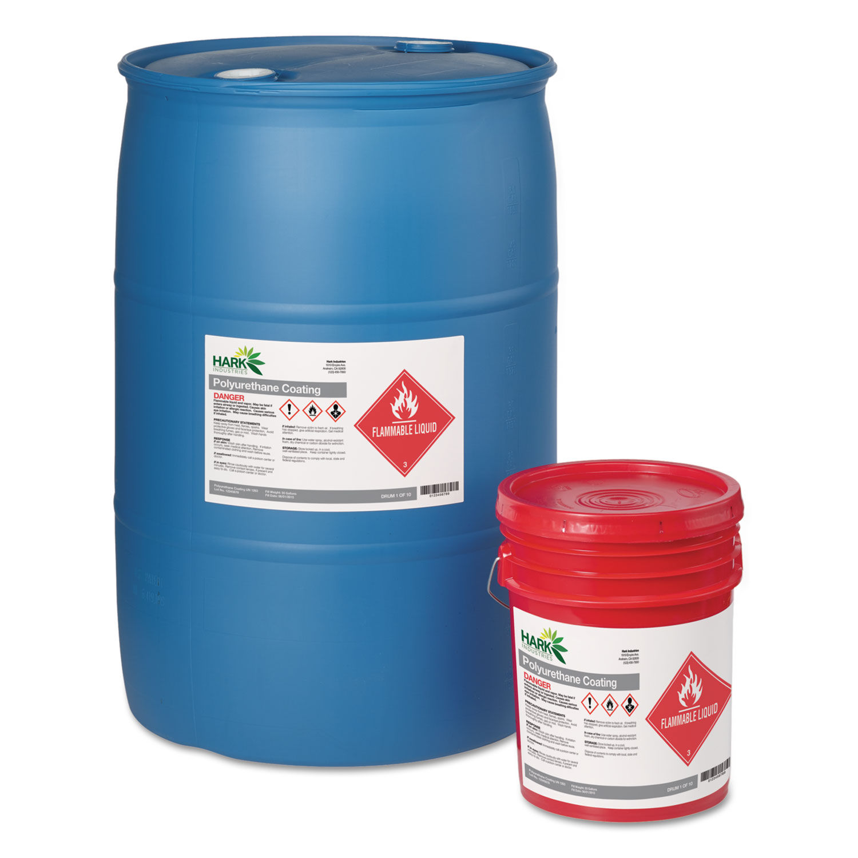 Full-Sheet GHS Chemical Waterproof & UV Resistent Labels