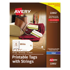 Avery® Printable Tags with Strings Thumbnail