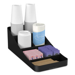 Mind Reader Trove 7-Compartment Coffee Condiment Organizer Thumbnail