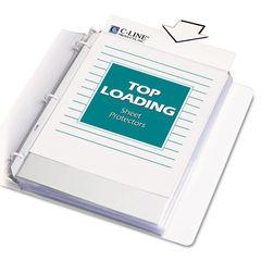 C-Line® Polypropylene Sheet Protector Thumbnail