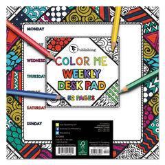 TF Publishing Color Me Weekly Desk Pad Thumbnail