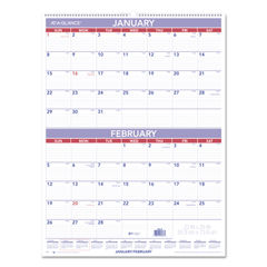 AT-A-GLANCE® Two-Month Wall Calendar Thumbnail