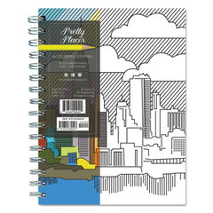 TF Publishing Perfect Places Coloring Journal Thumbnail