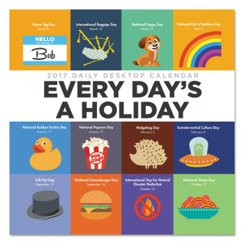 Daily Holiday Calendar.Every Day S A Holiday Box Calendar By Tf Publishing Tfb3114