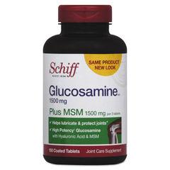 Schiff® Glucosamine Plus MSM Tablet Thumbnail