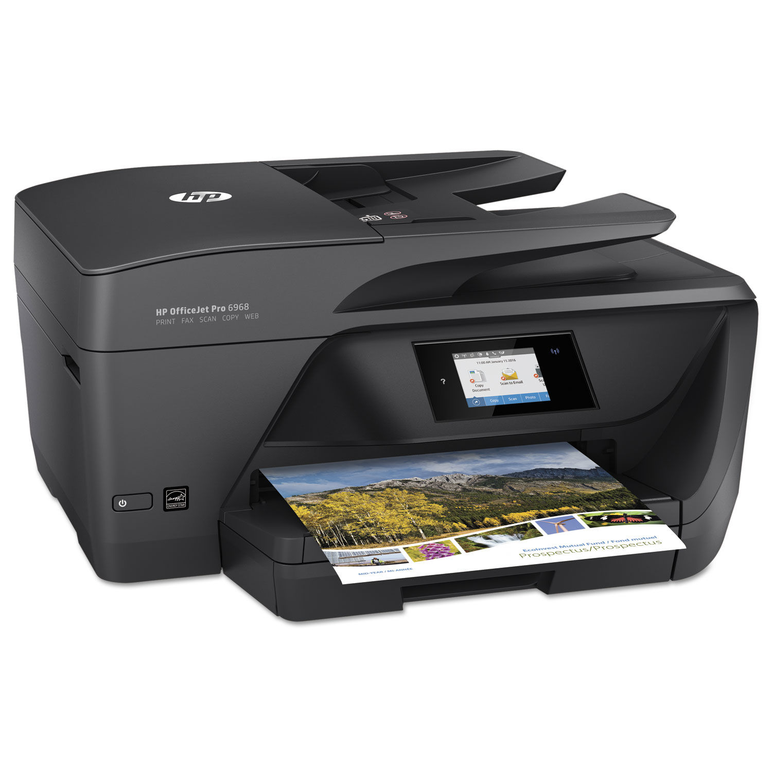 Officejet Pro 6968 All In One Printer By Hp Hewt0f28a