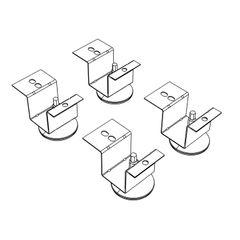 HON® Brigade® Pedestal Adjustable Glides Thumbnail
