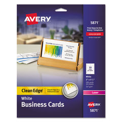 Avery® Premium Clean Edge Business Cards Thumbnail