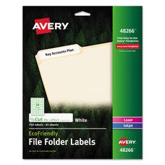 Avery® EcoFriendly Permanent File Folder Labels Thumbnail