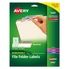 Avery® Removable File Folder Labels Thumbnail