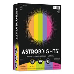 "Astrobrights® Color Cardstock -""Happy"" Assortment Thumbnail"