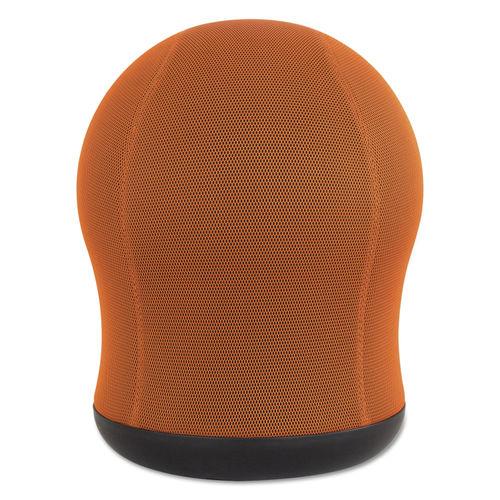 Brilliant Zenergy Swivel Ball Chair Orange Seat Orange Back Black Base Unemploymentrelief Wooden Chair Designs For Living Room Unemploymentrelieforg
