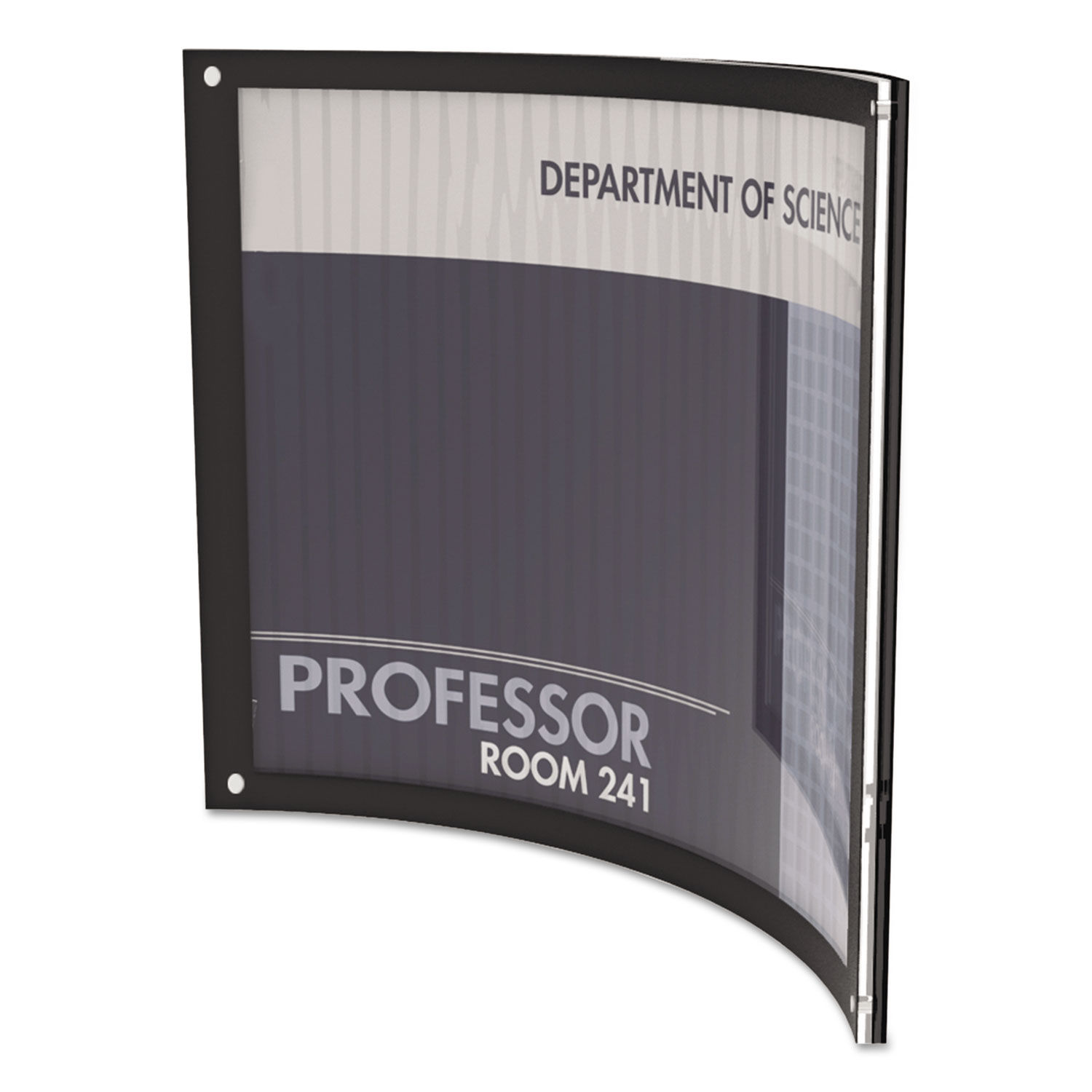 Document Frames Double Diploma Frame with Double Matting for 9 x 7 Tall Diploma with Black 3/4 Frame