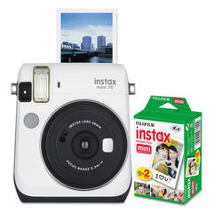 Fujifilm Instax® Mini 70 White Camera Bundle Thumbnail