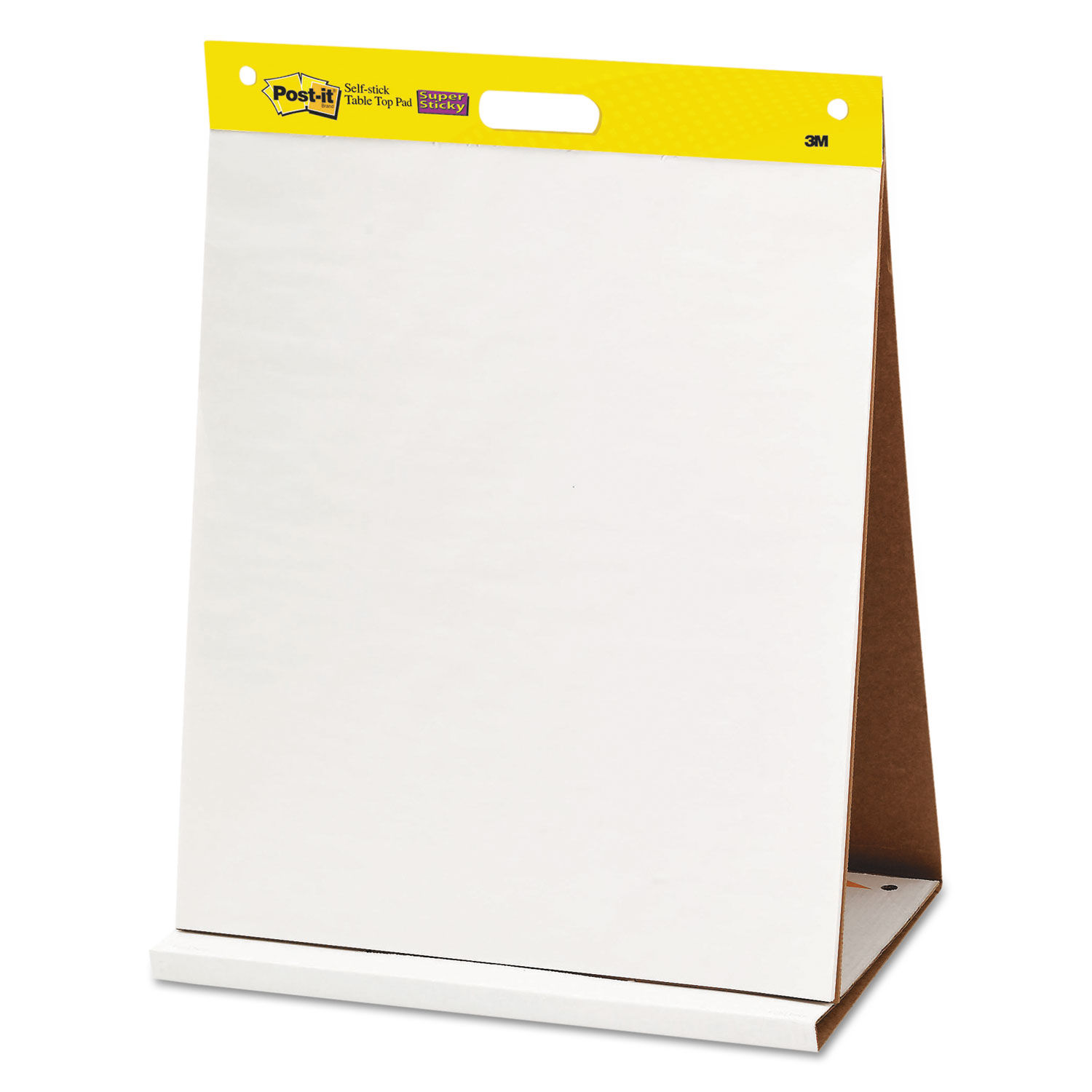 3 Pads Post-it Super Sticky Portable Tabletop Easel Pad 20 Sheets//Pad 20x23 Inches