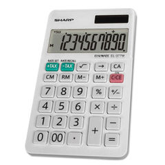 Sharp® EL-377WB Large Pocket Calculator Thumbnail